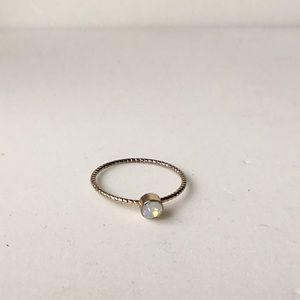 Jewelry - Delicate Moonstone Ring size 6